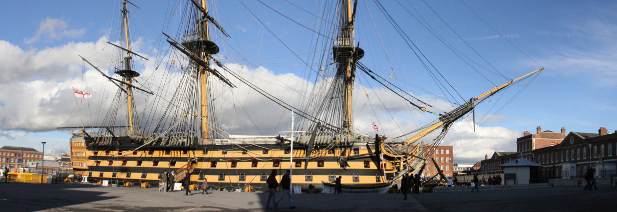 HMS Victory Crowd Safety Training