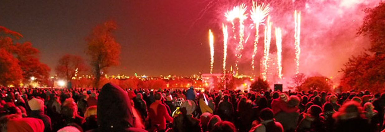 Safety considerations for firework events and historical incidents