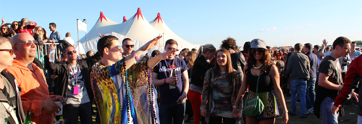 Event security at a multi award winning UK festival